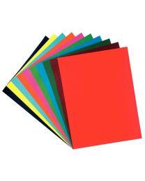 MAILDOR - 456299C - Papier dessin cartoline 50x65 130g assorti - Paquet de 50