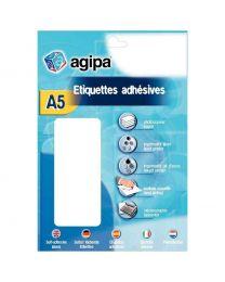 Agipa - 114303 - Pastille adhésif diamètre 8 mm - Rouge - Etui de 2940
