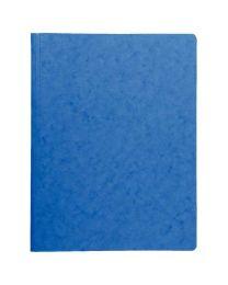 Exacompta - 24010025 - Chemise système à ressorts bleu - Format 24x32cm