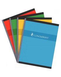 Conquerant - 100 104 778 - Cahier brochure grand carreaux - 17x22 cm - 192 Pages