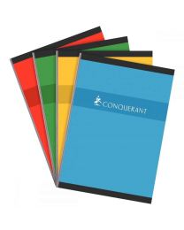 Conquerant - 100101685 - Cahier brochure grand carreaux - A4 - 192 Pages