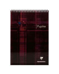 Clairefontaine - 8152C - Bloc pupitre petit carreaux reliure intégrale A4 - 160 Pages
