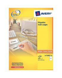Avery - L4732REV-25 - Etiquette enlevable 35,6x16,9mm - Paquet de 2000