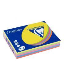Clairefontaine - 1708 - Ramette papier A3 80g - Couleur intense - 500 Feuilles