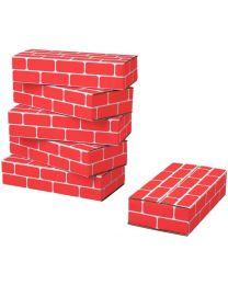 Brique enfant rouge - Paquet de 20