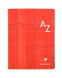 Clairefontaine - 3748 - Répertoire piqûre grand carreaux - 17x22 cm - 96 Pages