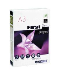 Ramette papier A3 First 80g - Blanc