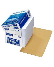 Discovery - Fast pack - Feuille papier blanc A4 - 75g - 2500 Feuilles