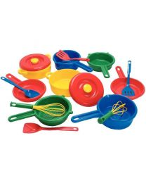 Batterie de cuisine - ensemble de 16 pieces