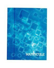 Cahier piqures grand carreaux 17x22 48p 90g