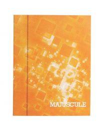 Cahier piqures grand carreaux 17x22 64p 90g