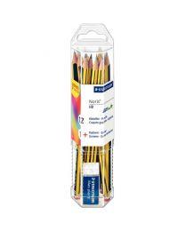 STAEDTLER - Crayon Staedtler noris 120 hb - boite de 12