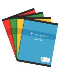Conquerant - 100 102 219 - Cahier piqûre réglure maternelle grand carreaux 3mm - 17x22 cm - 32 Pages