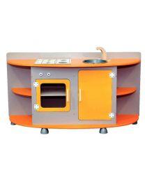 Bloc de cuisine en bois 120x40x59 cm