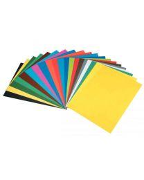 MAILDOR - 455506C - Papier dessin de carta 50x65cm 270g rouge - Paquet de 10