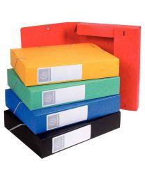 Exacompta - 160 Assorties - Boite de classement cartobox dos 60mm assorti - Carton de 10