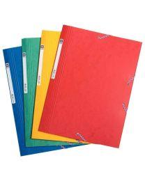 First - 78337 - Chemise 3 rabats élastique carte lustrée - Couleur assortie - Carton de 40