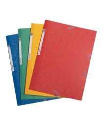 First - 78339 - Chemise 3 rabats élastique carte lustrée - Rouge