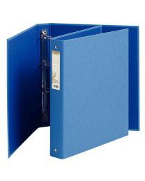 Exacompta - 51981 - Classeur 4 anneaux forever en carte recyclée A4 - Dos 4cm - Bleu
