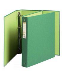 Exacompta - 51983 - Classeur 4 anneaux forever en carte recyclée A4 - Dos 4cm - Vert
