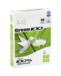 Green 100 - 81594 - Ramette papier A4 recyclé 80g - Blanc - 500 Feuilles