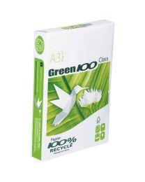Green 100 - 81595 - Ramette papier A3 recyclé 80g - Blanc - 500 Feuilles