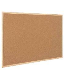 Bi-office - MC030012010 - Tableau liège cadre bois 60x45cm