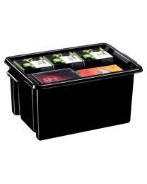 STRATA - Bac de rangement 14,5 litre noir