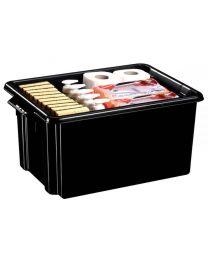 STRATA - Bac de rangement 32,0 litre noir