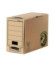 Fellowes - 4473202 - Boite archive recyclé - Dos 10cm - 25.5 x 33 cm - Paquet de 20