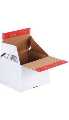 Paquet de 10 boîtes expédition envoi/retour 189x154x131