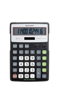 Machine à calculer de bureau Sharp 12 chiffres EL-R297