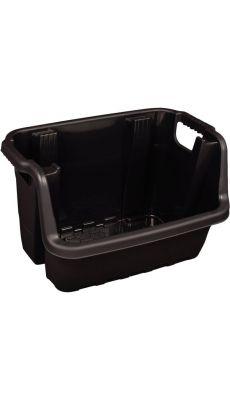Caisse de rangement heavy duty 59x41x36cm noir