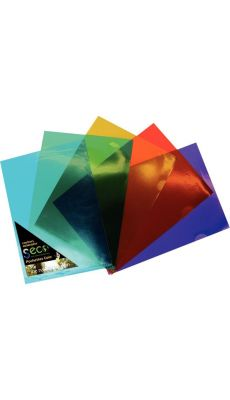 Sachet de 25 pochettes coin en polypropylène biodégradable coloris assortis