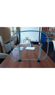 Pack de 10 cloisons de table PVC 70 x 50 cm
