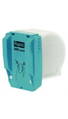 RAPID - 20993501- Cassette agrafes 5050 pour agrafeuse R5050 - 5050e - Paquet de 3 cassettes
