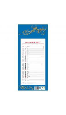 Calendrier mensuel 42x19 12f