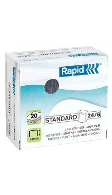 RAPID - Agrafe 24/6 n-16 - boite de 5000
