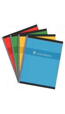 Conquerant - 100 104 437 - Cahier brochure petit carreaux - 17x22 cm - 192 Pages