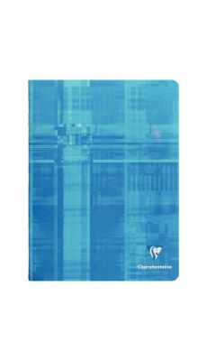 Clairefontaine - 63361C - Cahier piqûre grand carreaux - 96 Pages - 24X32 cm