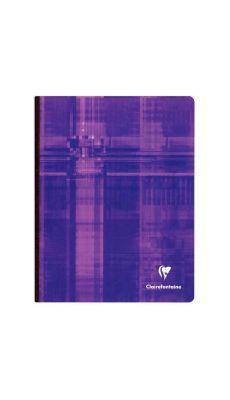 Clairefontaine - 9742 - Cahier brochure petit carreaux  - 192 Pages - 17x22 cm