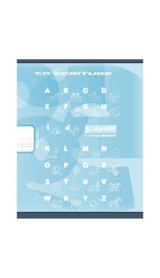 Clairefontaine - 501 - Cahier piqûre double ligne 3mm - 32 Pages - 17x22 cm - Bleu