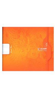 Clairefontaine - 7705 - Cahier piqûre double ligne 5mm - 24 Pages - 17x14,7 cm