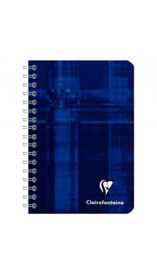 Clairefontaine - 68592 - Carnet spirale petit carreaux - 100 Pages - 9x14 cm