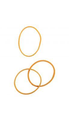 SAFETOOL - Bracelet élastique en caoutchouc blond 40 mm - boite de 100g