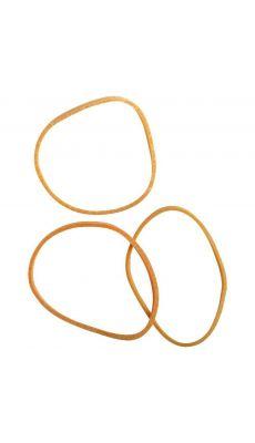 SAFETOOL - Bracelet élastique en caoutchouc blond 60 mm - boite de 100g