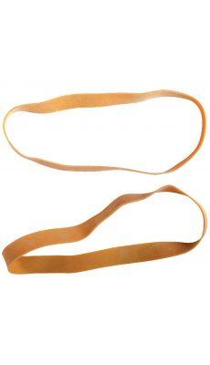 SAFETOOL - Bracelet élastique en caoutchouc blond 200x15mm - boite de 100g