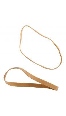 SAFETOOL - Bracelet élastique en caoutchouc blond 90x06mm - Paquet de 1kg