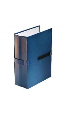 Chemise extensible balacron rabat 24x32 bleu