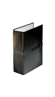 Chemise extensible balacron rabat 24x32 noir